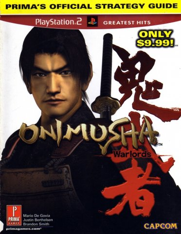 Onimusha Warlords Official Strategy Guide