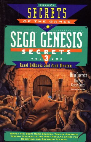 Sega Genesis Secrets Volume 3