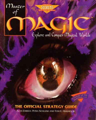 Master Of Magic Official Strategy Guide