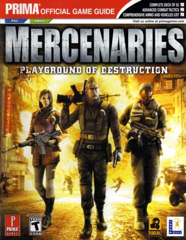 Mercenaries: Playground of Destruction Official Game Guide