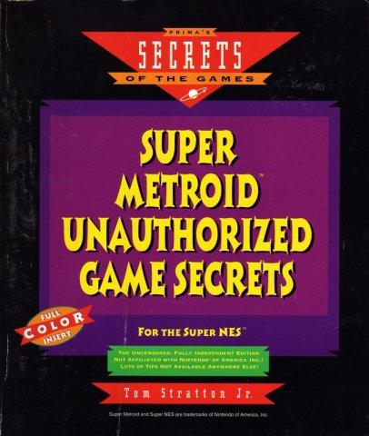 Super Metroid Unauthorized Game Secrets