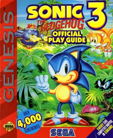 Sonic The Hedgehog 3 Official Play Guide