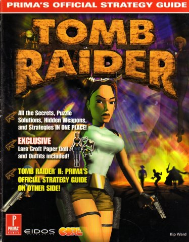 Tomb Raider I And II Official Strategy Guide (Front)