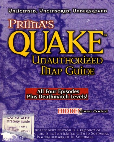 Quake Unauthorized Map Guide