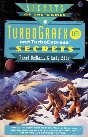 TurboGrafx 16 And TurboExpress Secrets