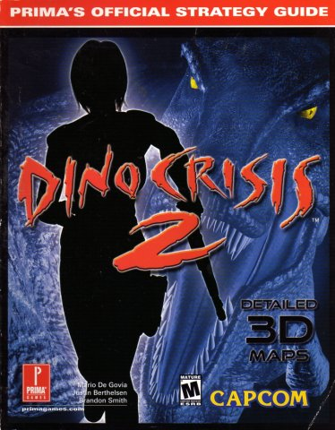 Dino Crisis 2 Official Strategy Guide