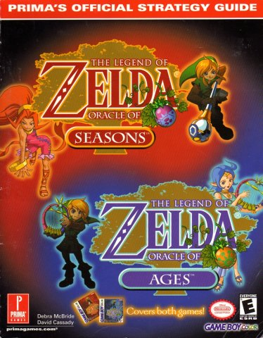 Legend Of Zelda: Oracle of Ages, The & Legend of Zelda: Oracle of Seasons, The Official Strategy Guide