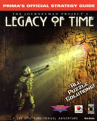 Journeyman Project 3: Legacy Of Time Official Strategy Guide, The