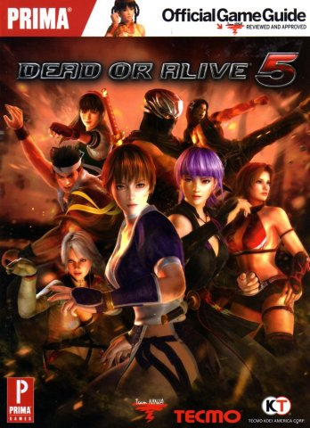 Dead Or Alive 5 Official Game Guide