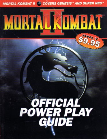 Mortal Kombat II Official Power Play Guide