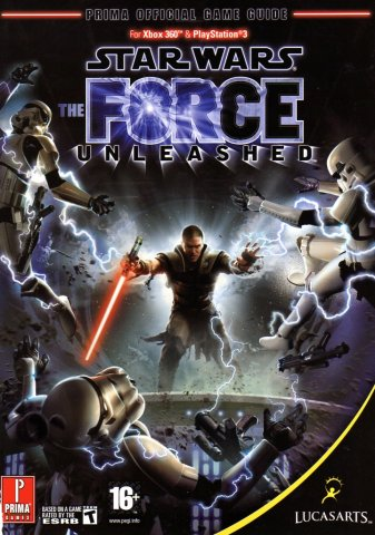 Star Wars - The Force Unleashed Official Game Guide (Front)