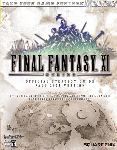 Final Fantasy XI Official Strategy Guide (Fall 2003 Version)