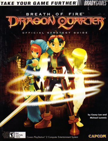 Breath Of Fire: Dragon Quarter Official Strategy Guide