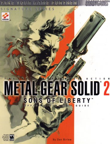 Metal Gear Solid 2: Sons Of Liberty Signature Series Guide