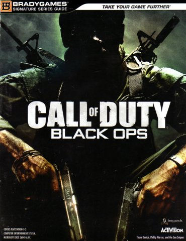 Call Of Duty: Black Ops Signatures Series Guide