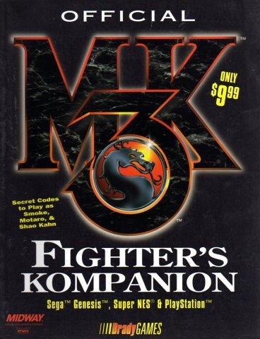Mortal Kombat 3 Official Fighter's Kompanion