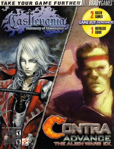 Castlevania: Harmony Of Dissonance/Contra Advance: The Alien Wars EX Official Strategy Guide