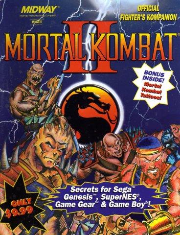 Mortal Kombat II Official Fighter's Kompanion