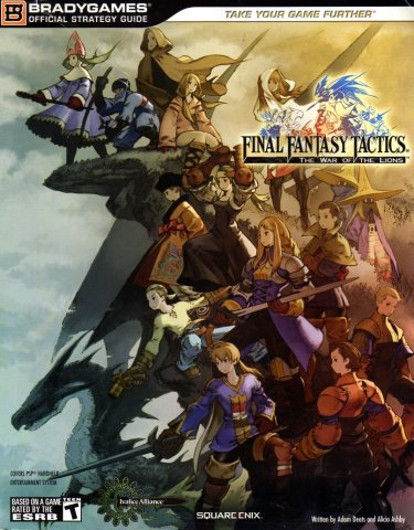 Final Fantasy Tactics: The War of the Lions Official Strategy Guide