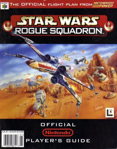 Star Wars Rogue Squadron Official Nintendo Player's Guide