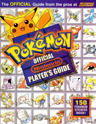 Pokemon Official Nintendo Player's Guide
