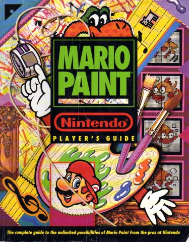Mario Paint Nintendo Player's Guide