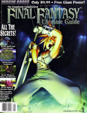 Final Fantasy VII Completely Unauthorized Ultimate Guide