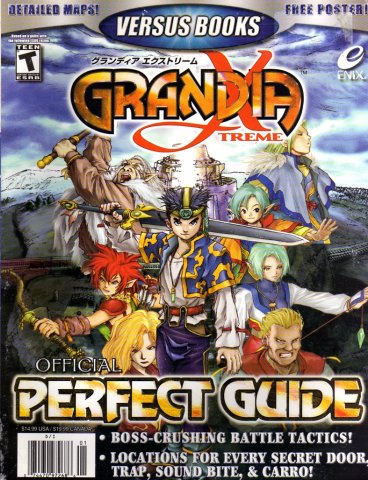 Grandia Xtreme Official Perfect Guide
