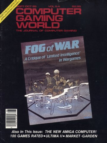 Computer Gaming World Issue 023 September October 1985