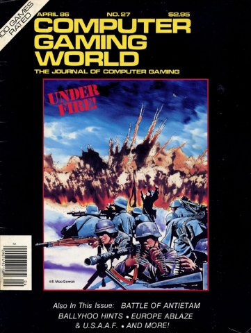 Computer Gaming World Issue 027 April 1986