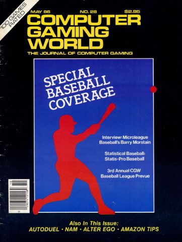 Computer Gaming World Issue 028 May 1986