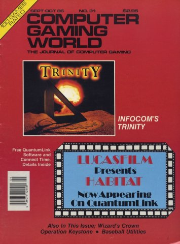 Computer Gaming World Issue 031 September 1986