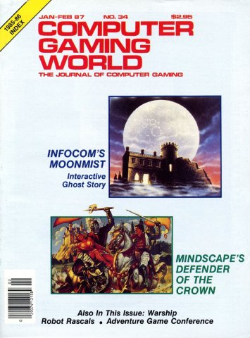 Computer Gaming World Issue 034 January 1987