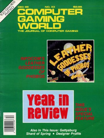 Computer Gaming World Issue 033 December 1986