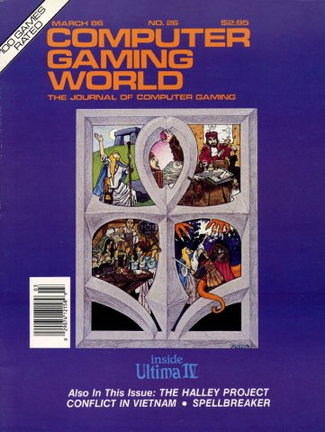Computer Gaming World Issue 026 March 1986