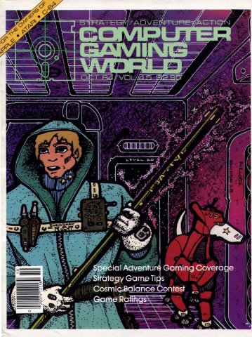 Computer Gaming World Issue 018 October November 1984