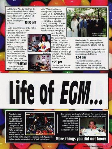 Life of EGM...