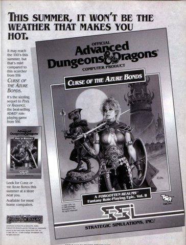 AD&D - Curse of the Azure Bonds