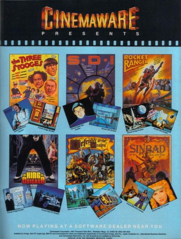 Cinemaware Six