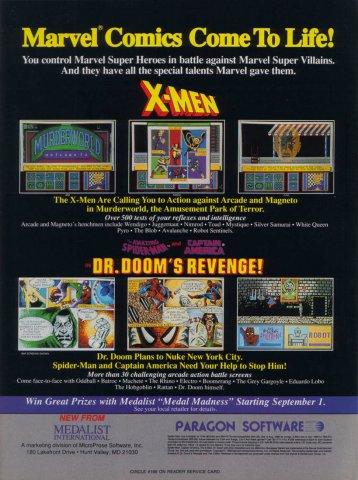 X-Men & Dr. Dooms Revenge