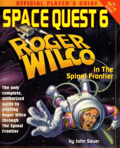 Space Quest 6: Official Player's Guide