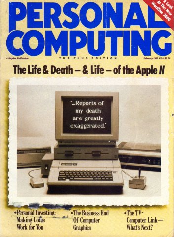 Personal Computing Vol 09 No 02 February 1985