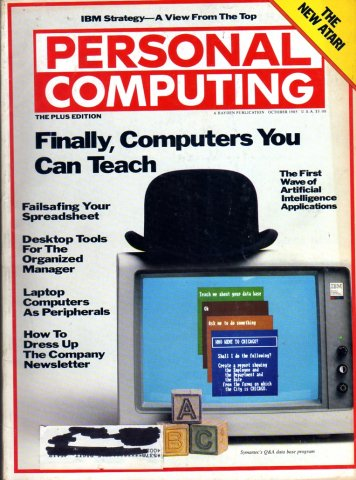 Personal Computing Vol 09 No 10 October 1985