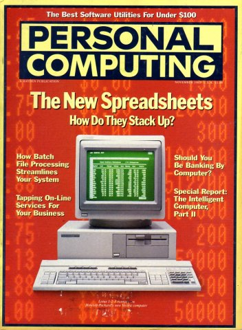 Personal Computing Vol 09 No 11 November 1985