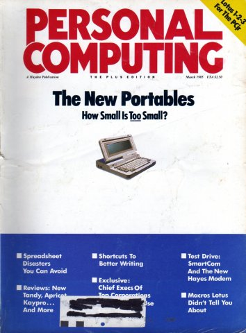 Personal Computing Vol 09 No 03 March 1985