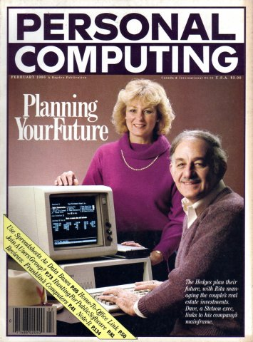 Personal Computing Vol 10 No 02 February 1986