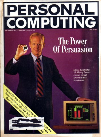 Personal Computing Vol 09 No 12 December 1985