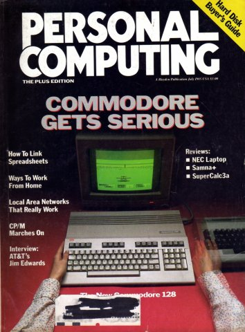 Personal Computing Vol 09 No 07 July 1985