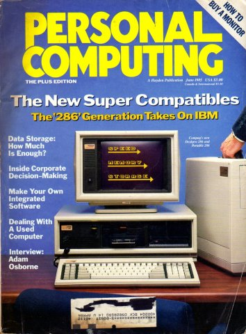 Personal Computing Vol 09 No 06 June 1985