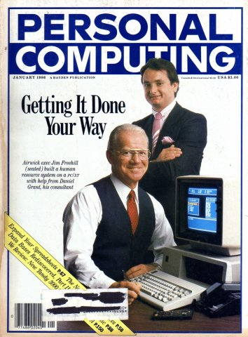 Personal Computing Vol 10 No 01 January 1986